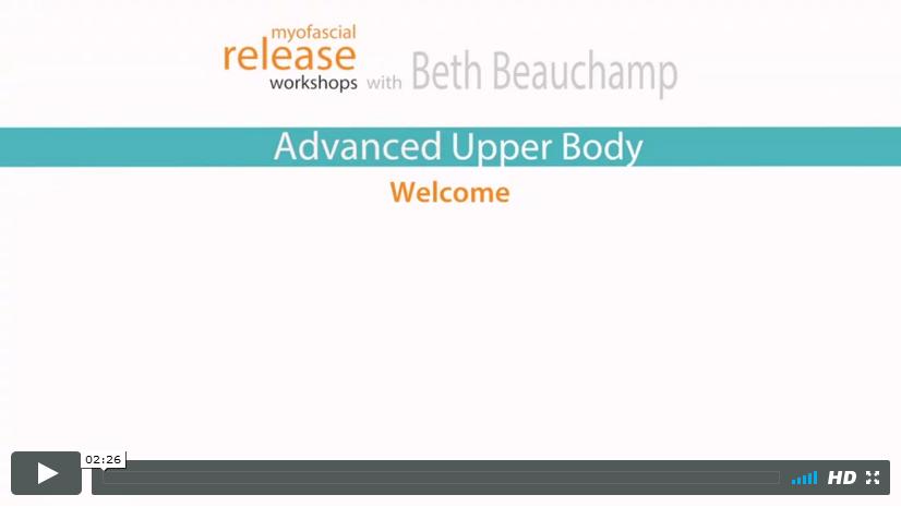 Aub Video Myofascial Release Courses Workshops